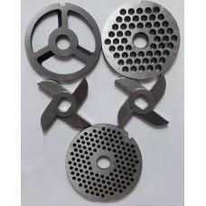 Комплект ножей и решеток для мясорубки МИМ-600