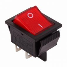 Кнопка переключатель 30А  (цвет-красный)