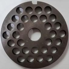 Решетка мясорубки МИМ-300-без-бурта-крупная (82, 16,5)