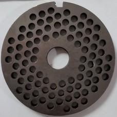 Решетка мясорубки МИМ-300-без-бурта-мелкая (82, 16,5)