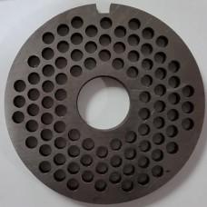 Решетка мясорубки МИМ-300-c-буртом-мелкая (82, 22,5)