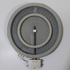Конфорка на стеклокерамическую электроплиту (двухзонная) 1+0.7=1.7кВт 200мм
