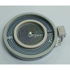 Конфорка на стеклокерамическую электроплиту (двухзонная) 2.2кВт 230мм