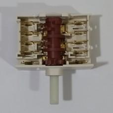 Переключатель конфорочный 6+0 пол. 303AA