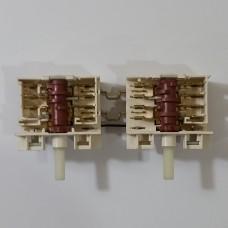 Переключатель конфорочный 6+0 и 4+0 пол. 307GO