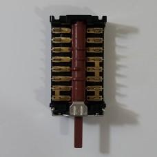 Переключатель конфорочный 6+0 пол. 301AC