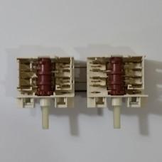 Переключатель конфорочный 6+0 и 6+0 пол. 305GO