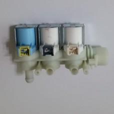 Клапан для стиральных машин Indesit, Ariston тройной